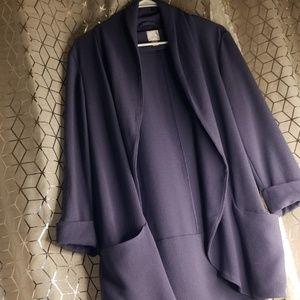Lauren conrad dusty blue blazer